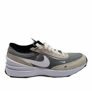 Nike Youth Waffle One Gs Gray White Black Shoes
